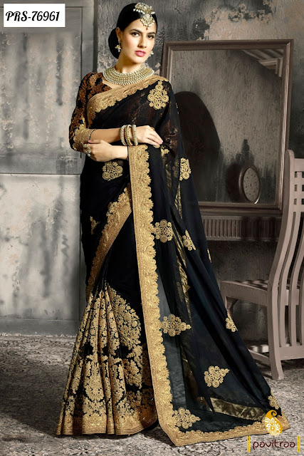 Buy Online Heavy Wedding Bridal Sarees In Affordable Price