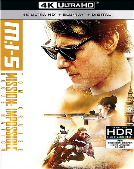 Mission: Impossible Rogue Nation 4K (Misión: Imposible Nación Secreta 4K) (2015) 2160p 4K UltraHD HDR BluRay REMUX 49GB mkv Dual Audio Dolby TrueHD ATMOS 7.1 ch