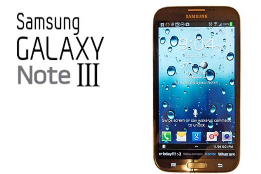 Samsung Galaxy Note 3 could be presented on September 4 in the preamble of the IFA 2013 in Berlin,
