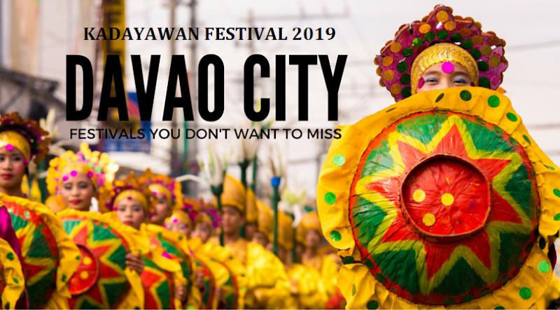 Kadayawan Festival 2019 Schedule of Activities