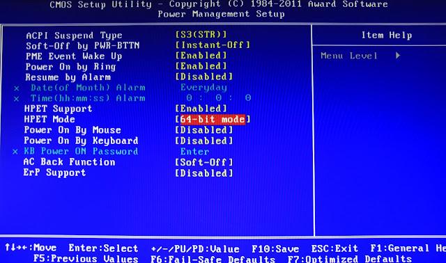"""2e1076d3a0a SATA Control Mode (varia el nombre de acuerdo al BIOS) – Probablemente este  configurado como """"SATA"""", """"IDE"""", o """"RAID"""". Cámbialo a """"AHCI""""."""