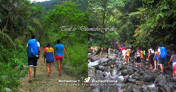 Trail to Ditumabo Falls - Aurora - Schadow1 Expeditions