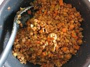 Lentilhas com caril