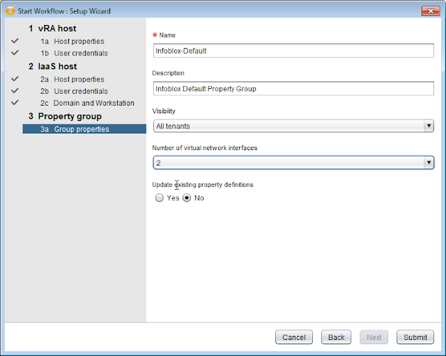 Infoblox IPAM Integration with VMware vRealize 7 1