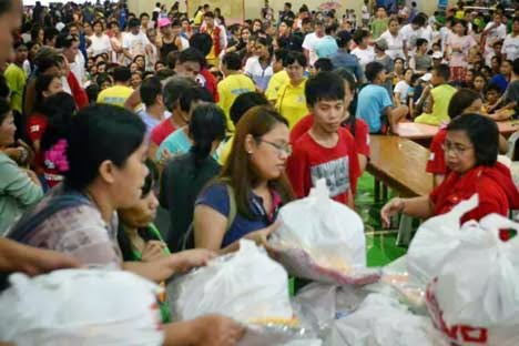 DSWD evacuation center