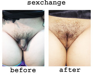 Change male after sex