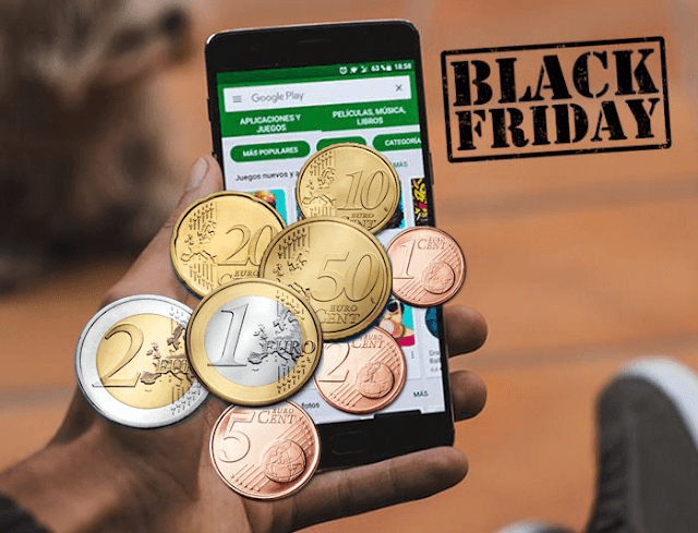 Google Play Store celebrates BLACK FRIDAY and offers you 28 great paid apps and games for free download 1