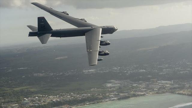 EEUU vuelve a enviar dos bombarderos B-52 al mar del Sur de China