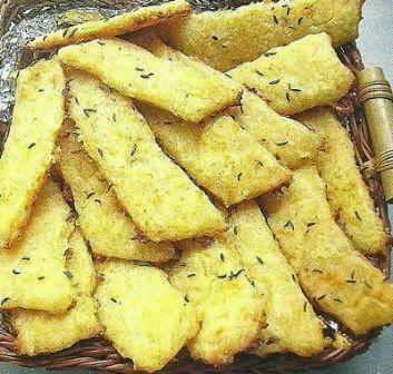 Состав продуктов и способ приготовления печенья Оригинальные палочки