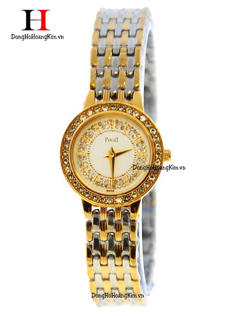 Đồng hồ nữ Piaget dây inox giá rẻ dưới 1 triệu
