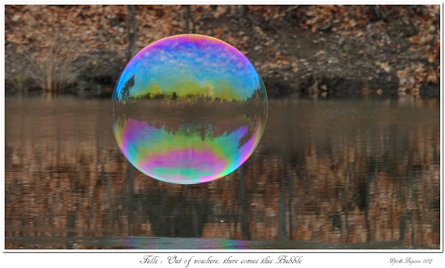 Fells: Out of nowhere, there comes this Bubble