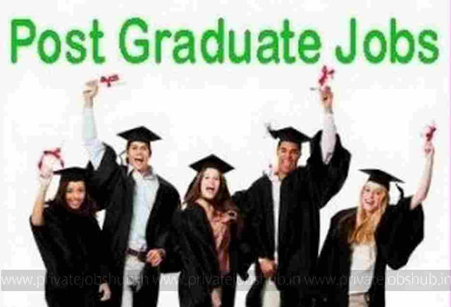 Latest Post Graduate Jobs