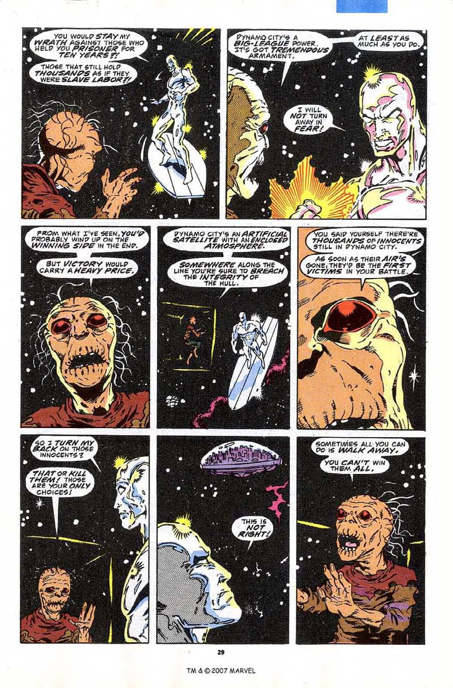 Read online Silver Surfer (1987) comic -  Issue #43 - 31