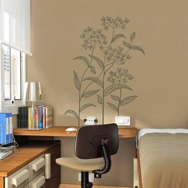 Desain Wallpaper Dinding Rumah Bernuansa Bunga Yang Indah dan Menawan