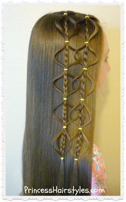 Interlocking floating #bubblebraid #hairstyle tutorial