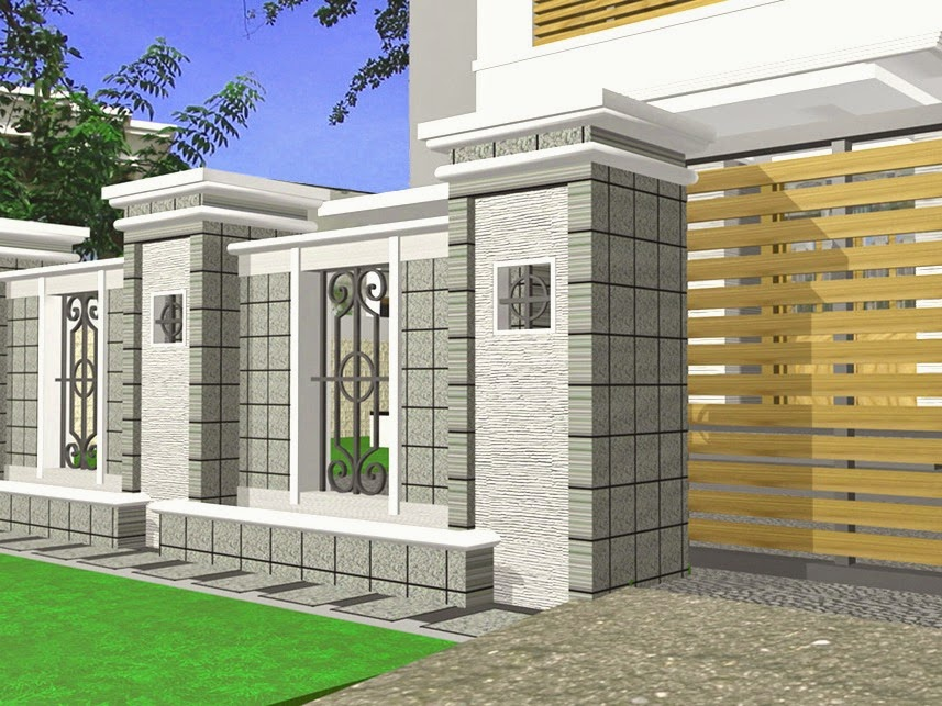 pagarrumah design pagar rumah