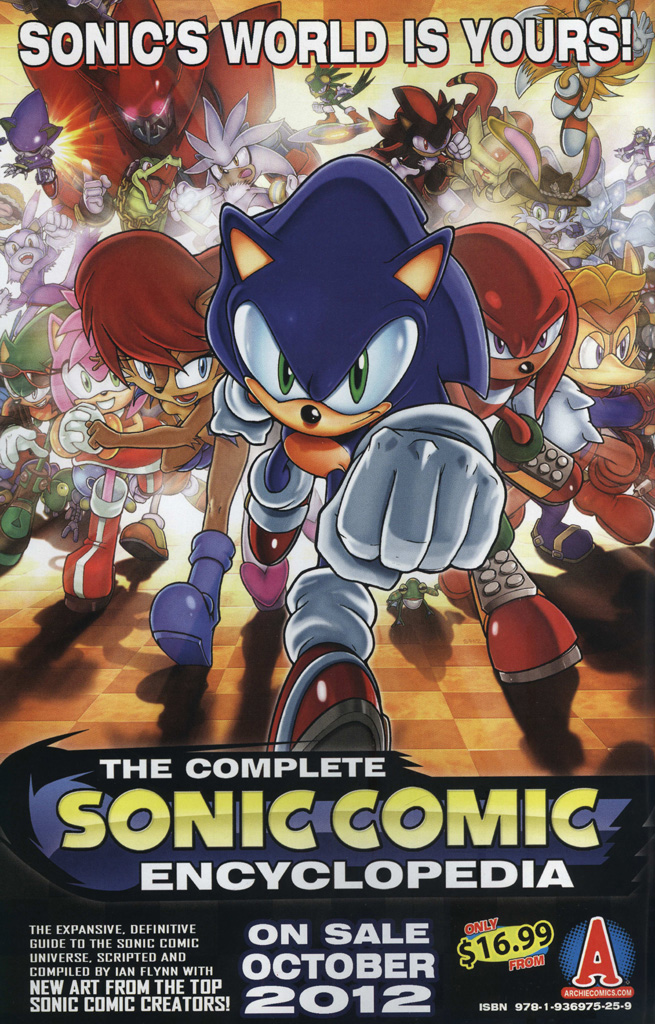 Read online Sonic The Hedgehog comic -  Issue #242 - 2