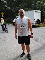 Lance Eaton after the Greenbelt's 3rd Annual Beverly Commons Trail Run