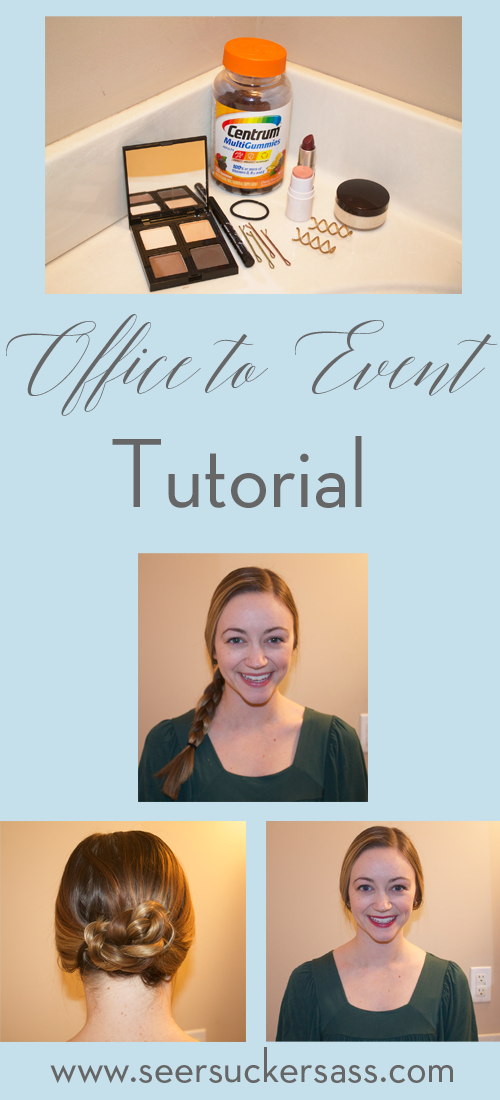 Office to Event Beauty Tutorial