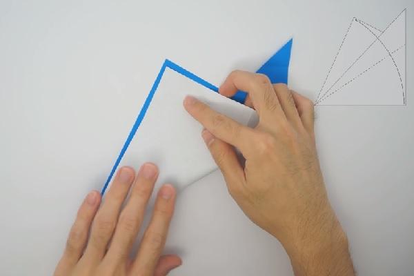 Cách gấp ngựa một sừng theo phong cách Origami
