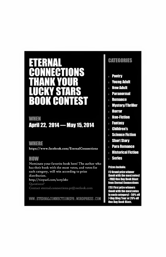 Eternal Connections Thank Your Lucky Stars Book Contest