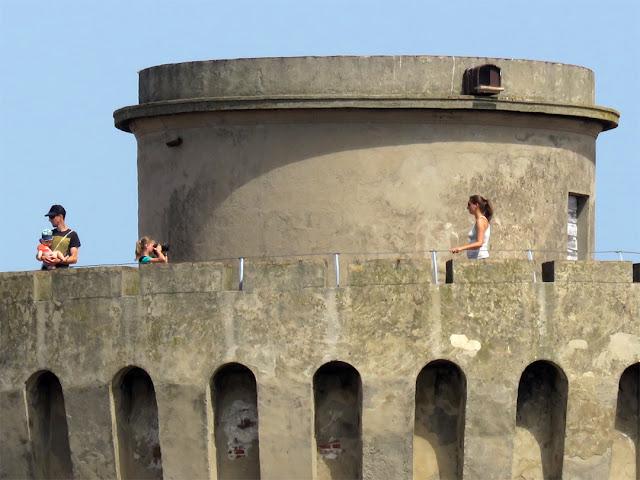 The kid photographer, Fortezza Vecchia (Old Fortress), Livorno