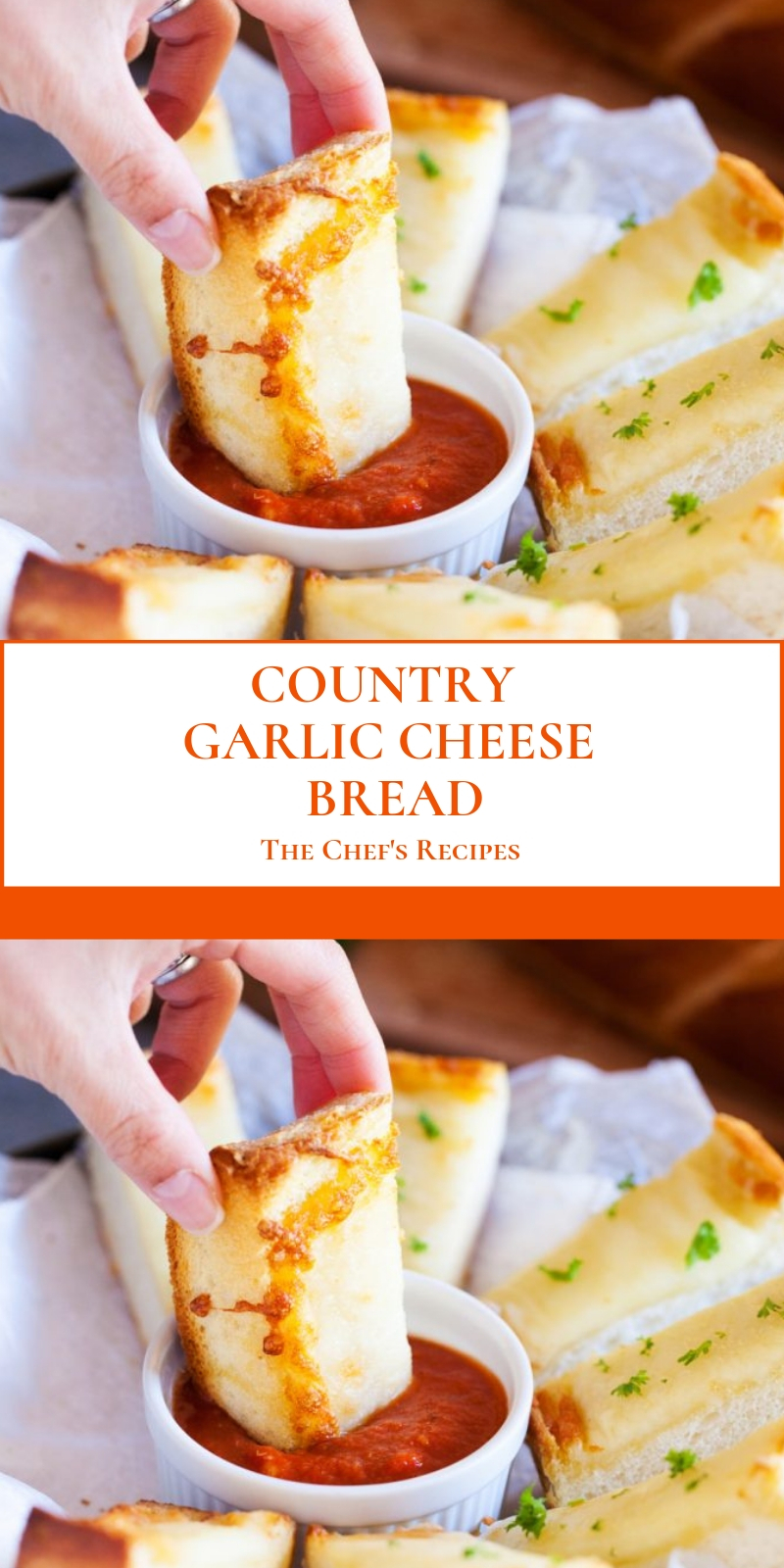 COUNTRY GARLIC CHEESE BREAD