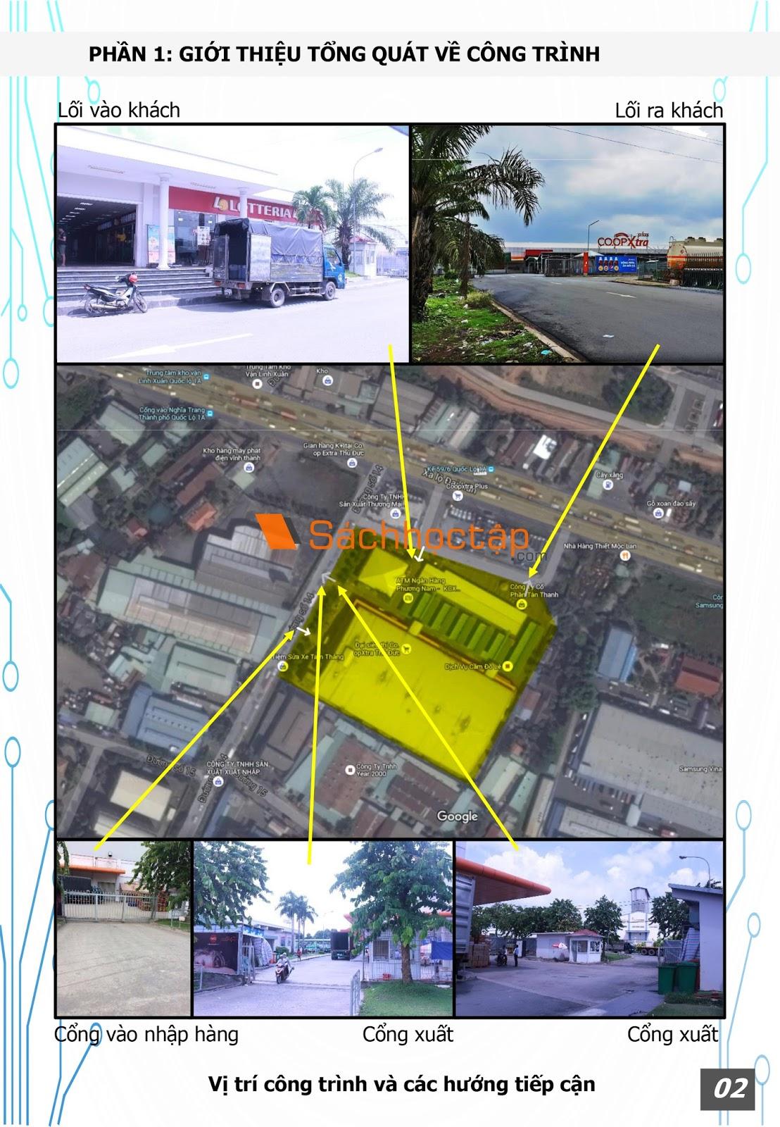 Chuyên đề kiến trúc 4: Kiến trúc thương mại - Dịch vụ: Siêu thị Co.opxtra Plus Thủ Đức - Preview 3