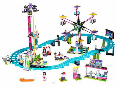 TOYS : JUGUETES - LEGO Friends  41130 Parque de Atracciones : Montaña Rusa   Amusement Park Roller Coaster  Producto Oficial 2016 | Piezas: 1124 | Edad: 8-12 años  Comprar en Amazon España & buy Amazon USA