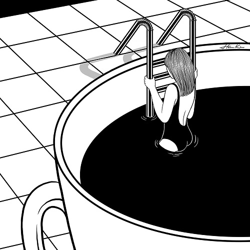 """Morning swim"" by Henn Kim 