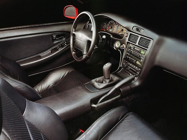 Toyota MR2 MK2 SW20 SW21 SW22 japoński sportowy samochód coupe JDM mid-ship mid-engine wnętrze interior 日本車 トヨタ