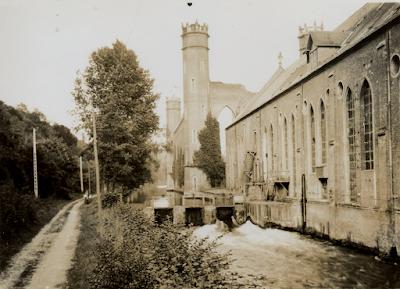 Filature Levavasseur sur l'Andelle - Fontaine-Guérard - quand il n'y avait encore qu'un chemin de terre