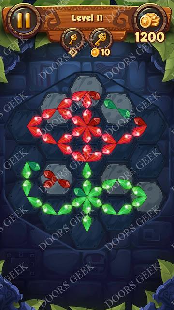 Gems & Magic [Emerald] Level 11 Solution, Walkthrough, Cheats