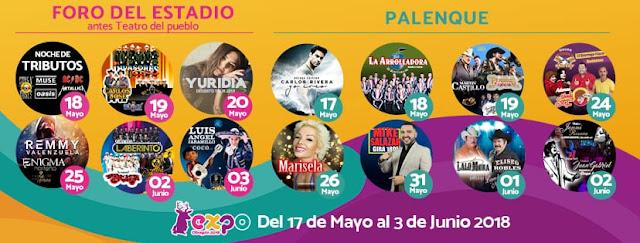 programa Expo obregón 2018