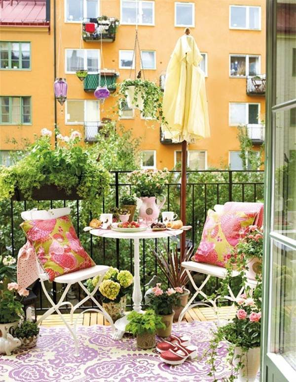 7 Ideas For Decorating Balconies or Terraces 7