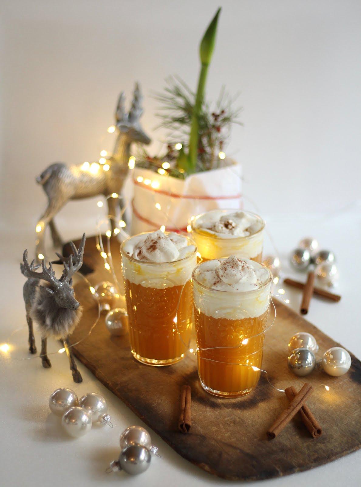 Schneller Orangenpunsch mit Zimtsahne | Rezept von Sugarprincess