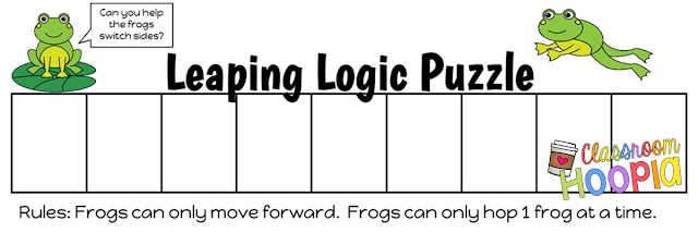 https://www.teacherspayteachers.com/Product/Leaping-Logic-Puzzle-813704