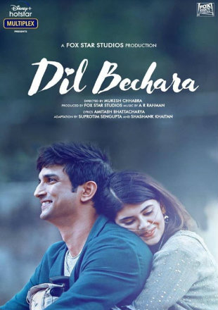 Dil Bechara 2020 Full Hindi Movie Download HDRip 720p