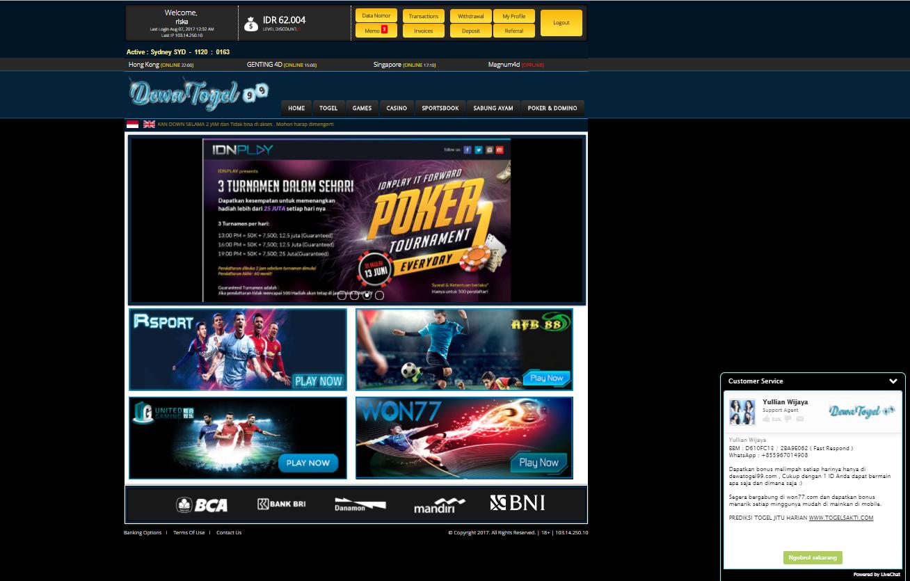 gambar situs togel