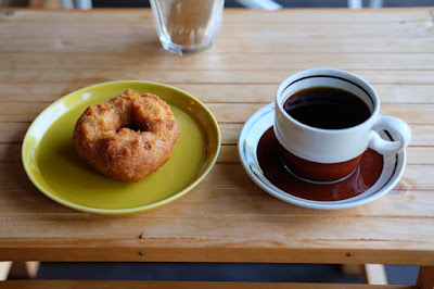 bio cafe COUDO ドーナツとコーヒー