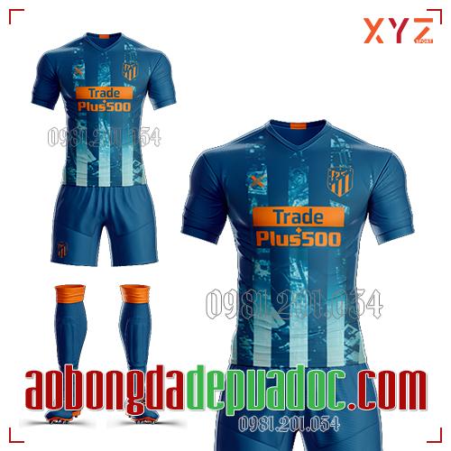 Áo Atlentico Madrid  2019 Sân Khách Mẫu 1