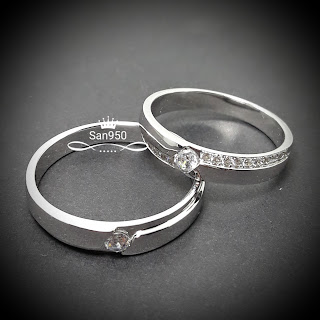 Cincin couple platina
