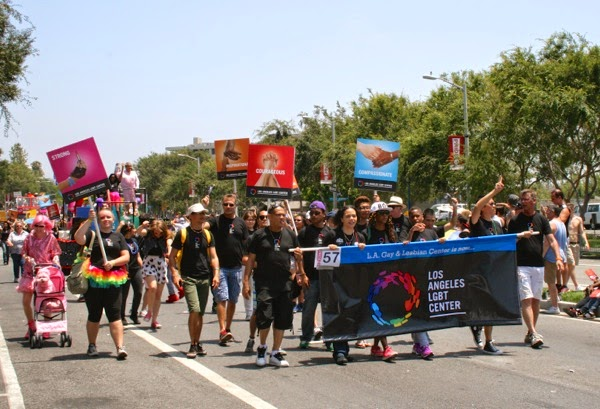 Los Angeles LGBT Center WeHo Pride Parade 2014