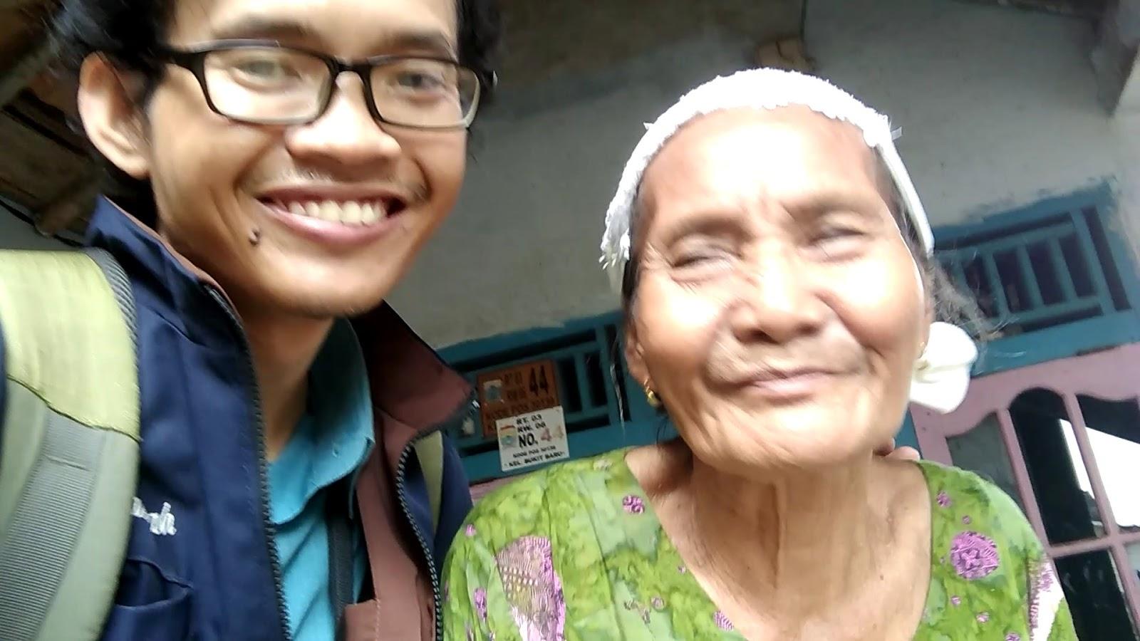 Alhamdulillah, bisa Ketemu Nenek satunya,