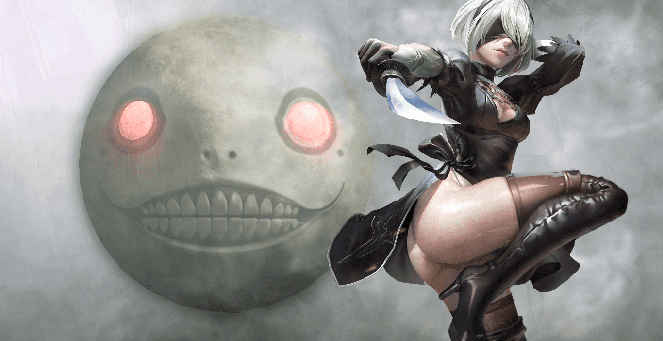 2B Nier automata (HoHoHo) [Wallpaper Engine Free]