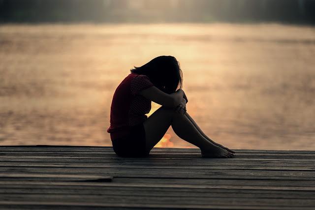 Depresif kadın