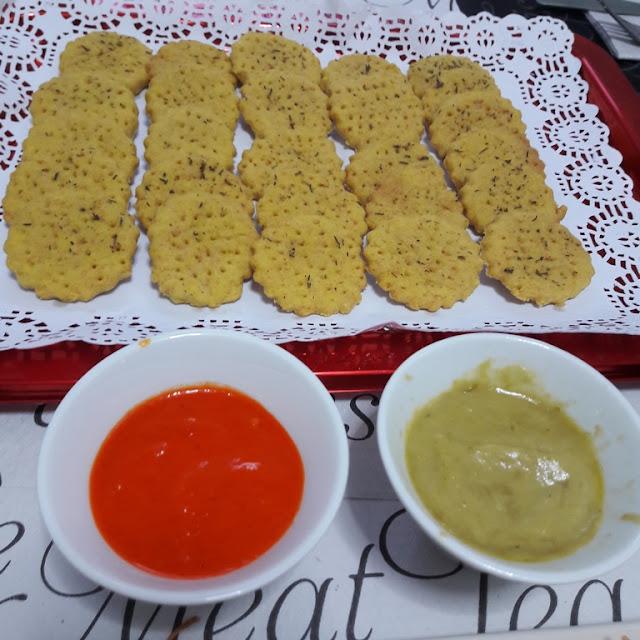 Receta: Galletas Saladas
