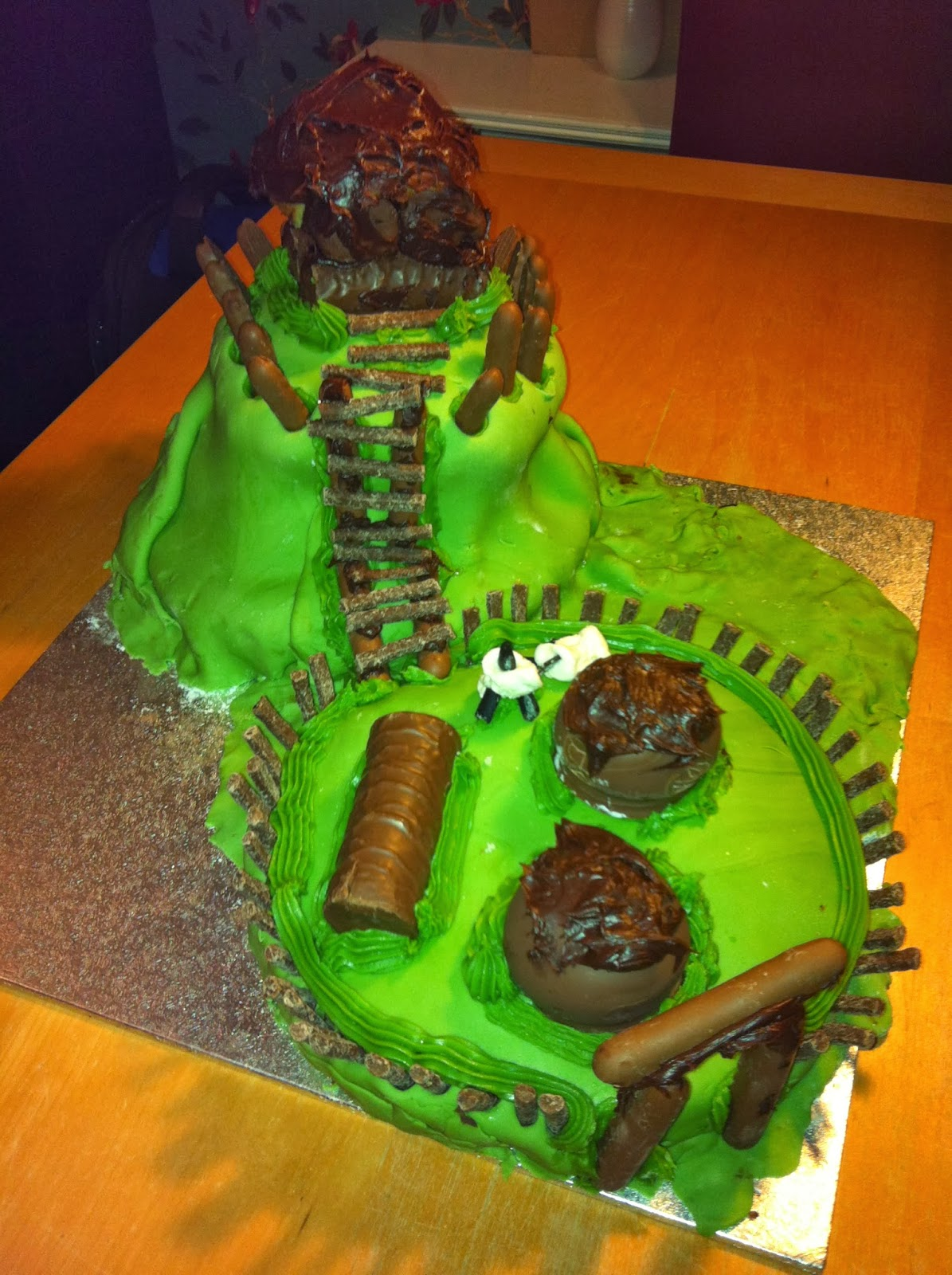 My Motte And Bailey Castle Cake My Motte And Bailey Castle Cake