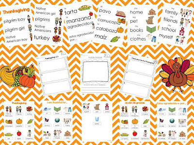 Thanksgiving Vocabulary And A Freebie Adventures In