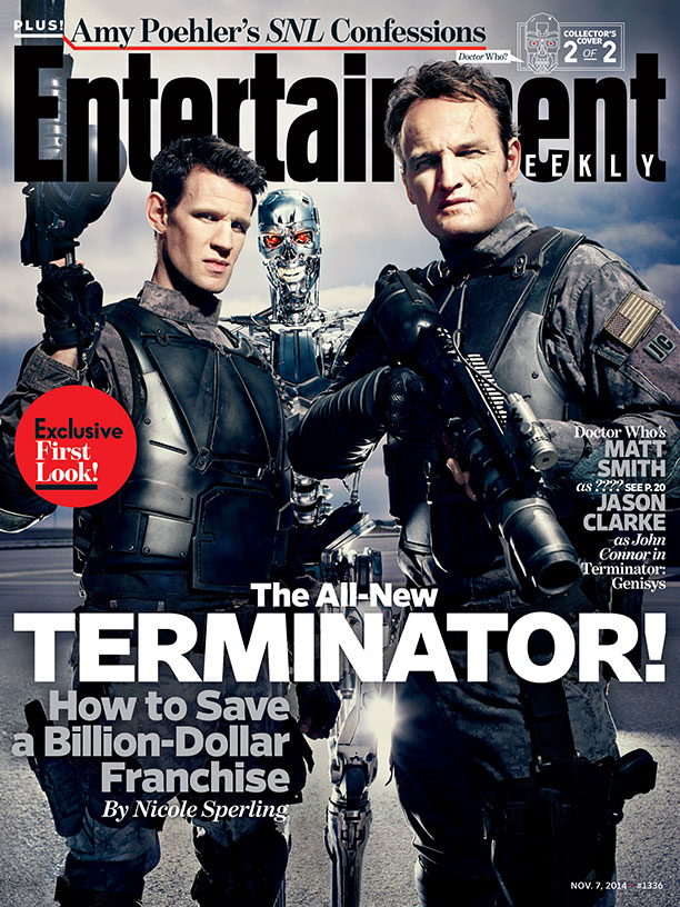 Jason Clarke (Dawn Of The Planet Of The Apes) şi Matt Smith (Doctor Who) în Terminator: Genisys